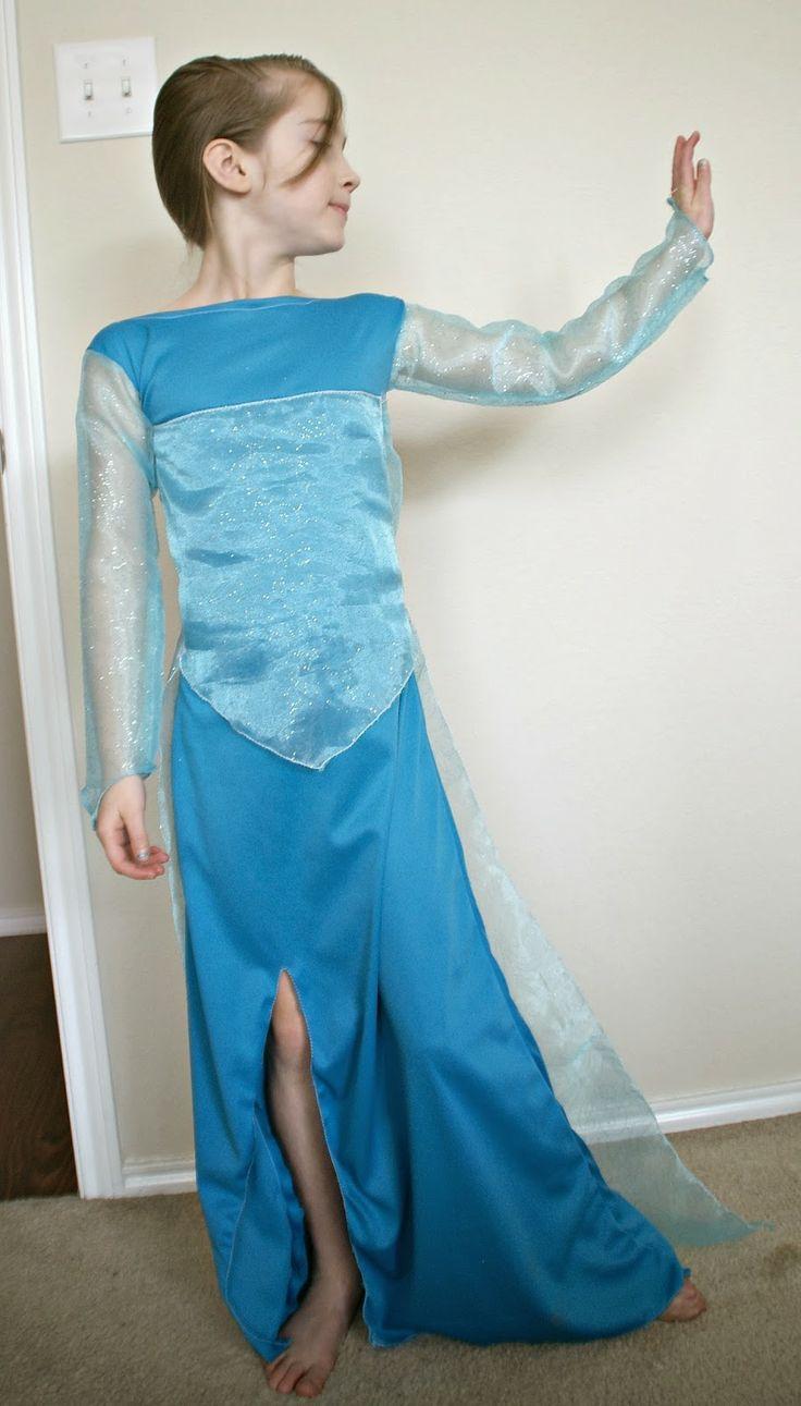 DIY Disneys Frozen: Elsa Dress via Busy Mom's Helper
