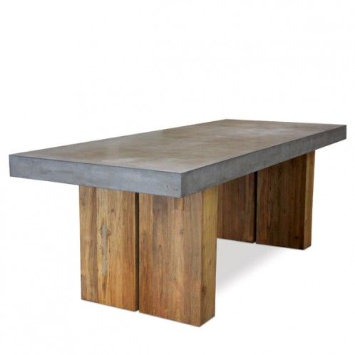 Best Furniture Dining Room Tables Images On Pinterest - Concrete dining room table