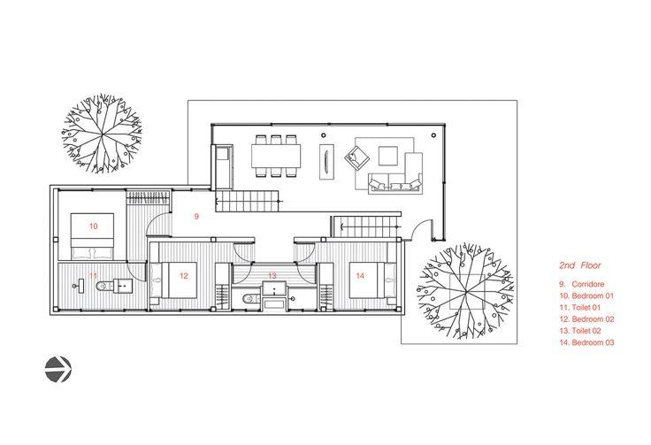 KA House,Floor Plan