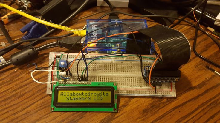 Readers will learn how to wire a standard 16x2 LCD (liquid crystal display) to a Raspberry Pi to display messages.