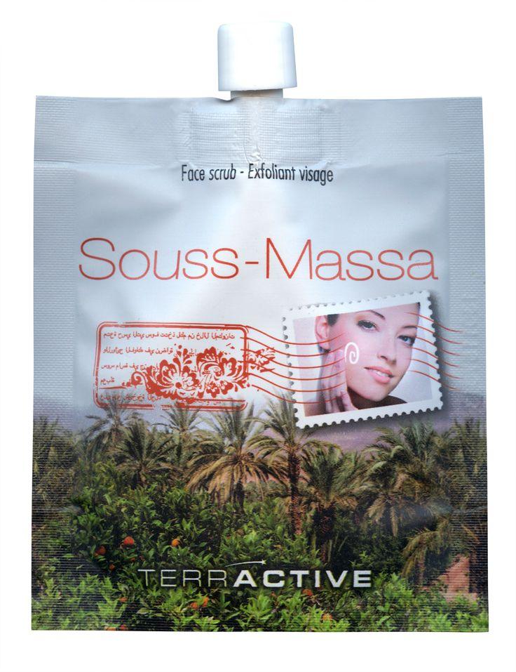 Terractive Souss-Massa South Moroccan Orange Scrub Face Scrub