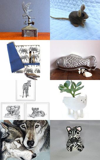 Creature feature by Jill Lord on Etsy--Pinned with TreasuryPin.com