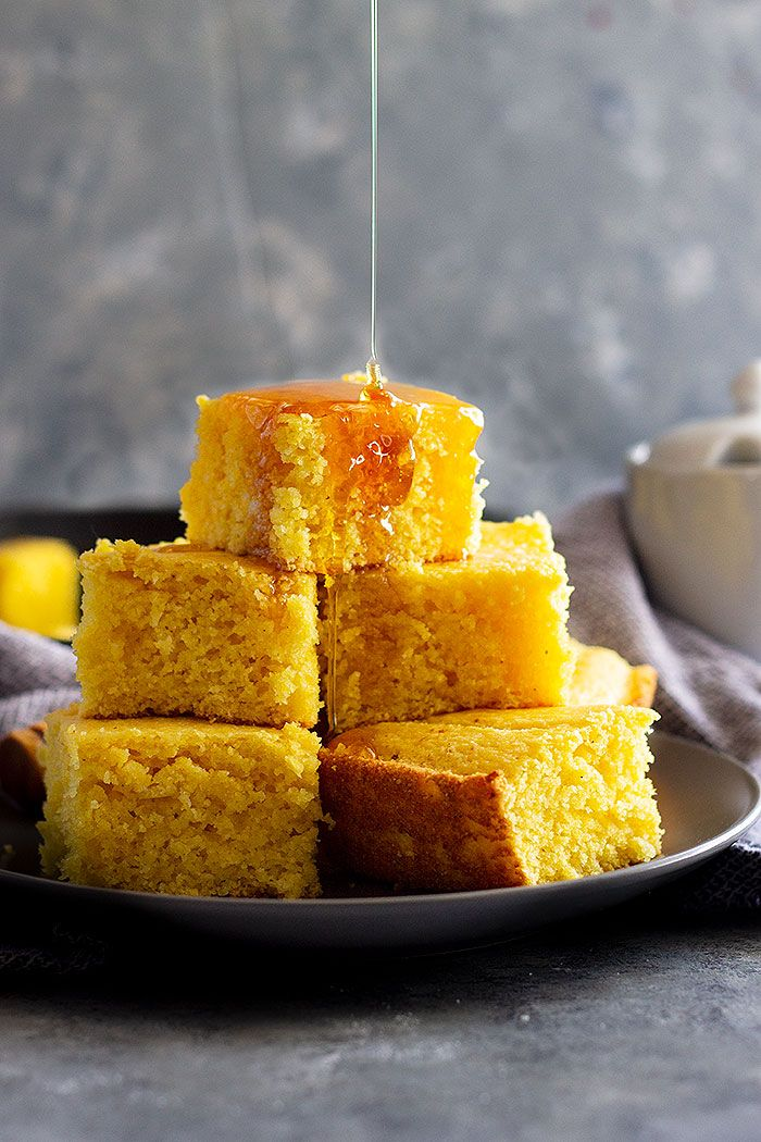This Easy Buttermilk Cornbread Recipe Has The Perfect Balance Of Sweetness Flavor And Is Made In One Bowl Cornbre What S On Countryside Cravings In 2019 Buttermilk Cornbread Easy Buttermilk Cornbread Recipe Cornbread