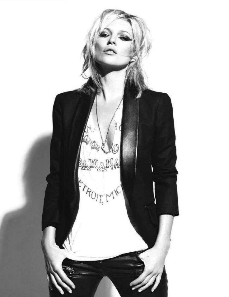 Kate Moss - rock attitude