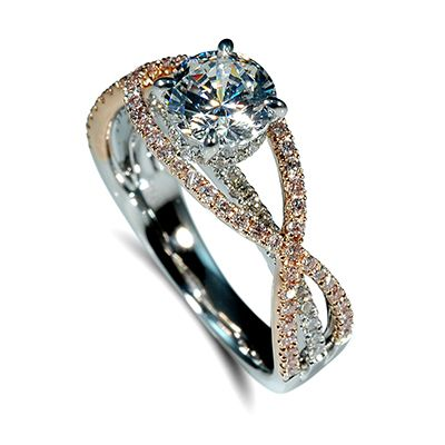 Mark Silverstein: Two Tone Engagement Rings - Engagement 101