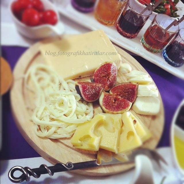 Turkish Breakfast: incir, mımm
