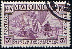 Newfoundland 1947 Cabot Fine Used                    SG 294 Scott 270 Other North American and British Commonwealth Stamps HERE!