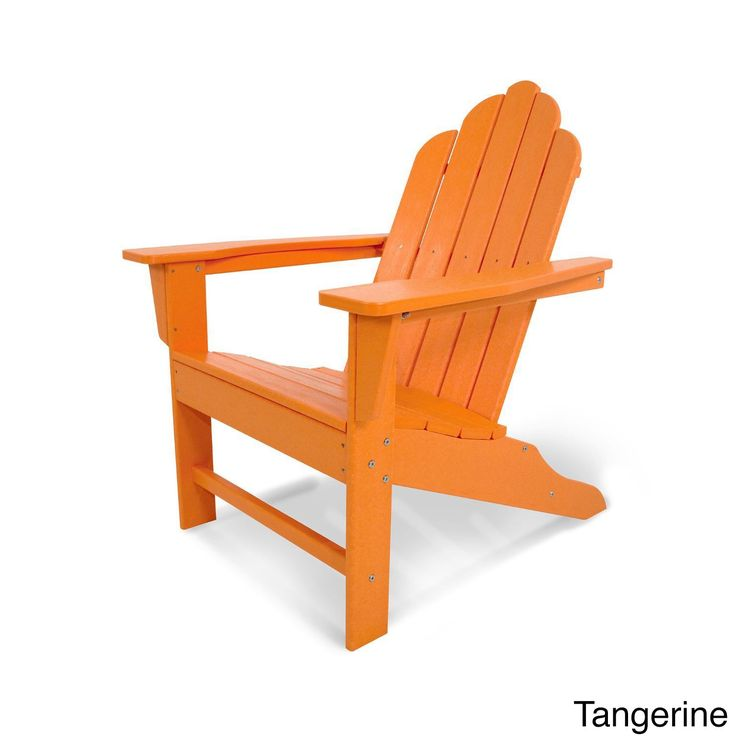 Long Island Blue Polywood Adirondack Chair Aruba