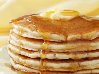 Hot pancakes. El gourmet