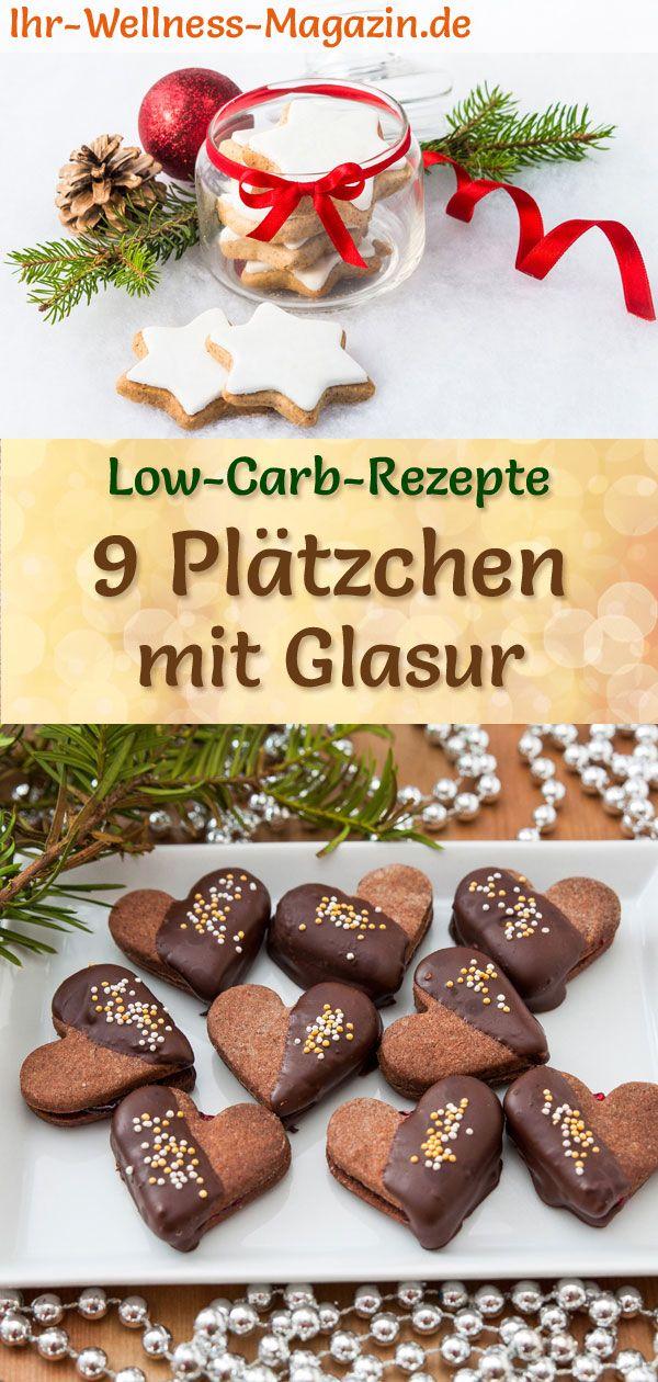 Weihnachtsplätzchen Glasur.9 Plätzchen Rezepte Mit Glasur Low Carb Einfach Ohne Zucker 00