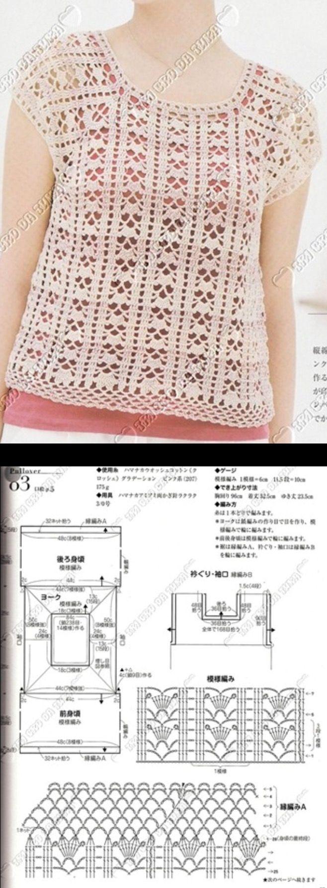 1757 best Gehekelde klere images on Pinterest | Crochet clothes ...