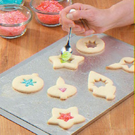 Stained glass cookies submitted to our gluten free holiday for Stained glass cookie recipe
