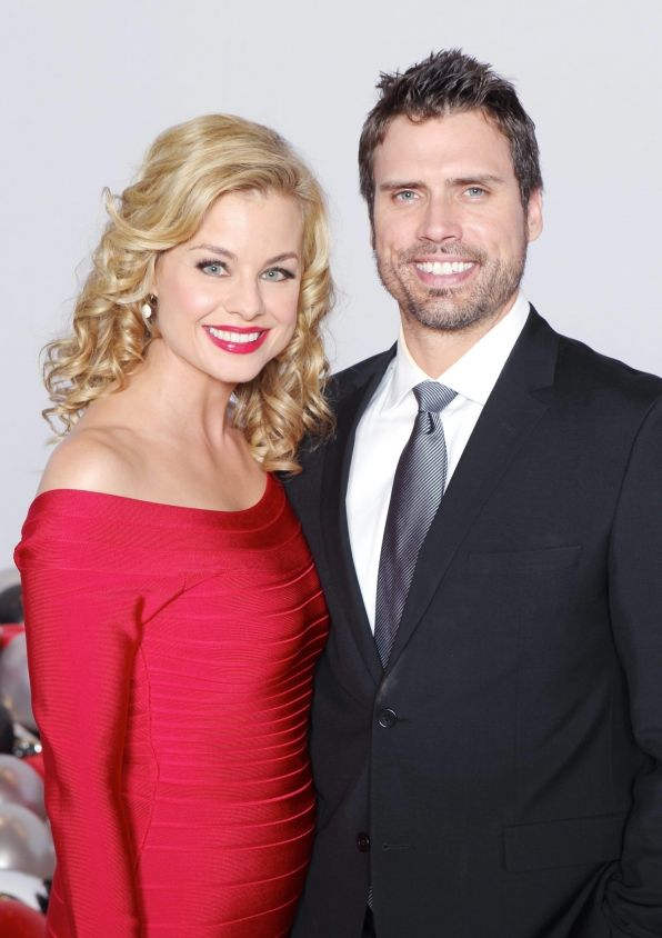 The Young and the Restless Photos: Jessica Collins and Joshua Morrow on CBS.com