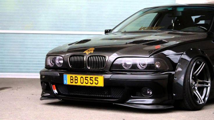 Tom's BMW E39 widebody beast with Schmiedmann styling.