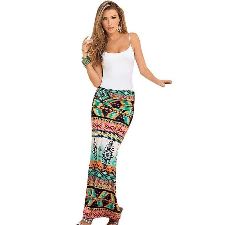 Skirt. Género: Mujeres Cintura: Imperio Decoración: Ninguno Tipo de Patrón: Impresión Estilo: Moda Material: gasa Vestidos largos: Tobillo-Longitud Silueta: Derecho Número de modelo: falda de las mujeres Marca: feitong 1: faldas para mujer 2: falda midi : 3 falda de verano 4 : Faldas grandes 5: verano de las mujeres de la falda tamaño 6: falda bohemia 7: saias femeninas formal 8: falda de la alta cintura de la vendimia 9: falda del verano de las...