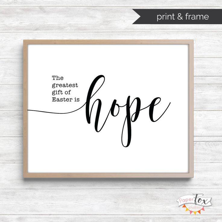 Easter Decor, Easter Printable, Printable Wall Art, Religious Easter, Farmhouse …   – Easter