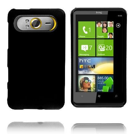 Hard Shell (Sort) HTC HD7 Deksel