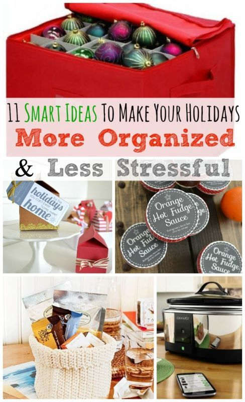11 Ideas to Make Your Holidays More Organized & Less Stressful | eBay #ad