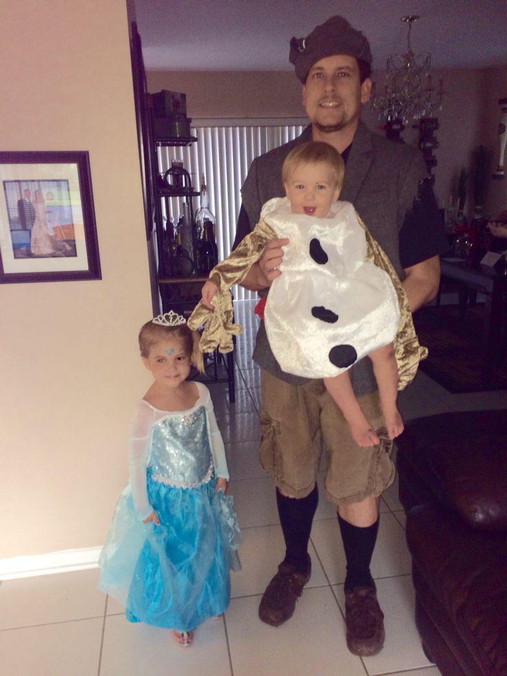 Elsa, Kristoff & Olaf