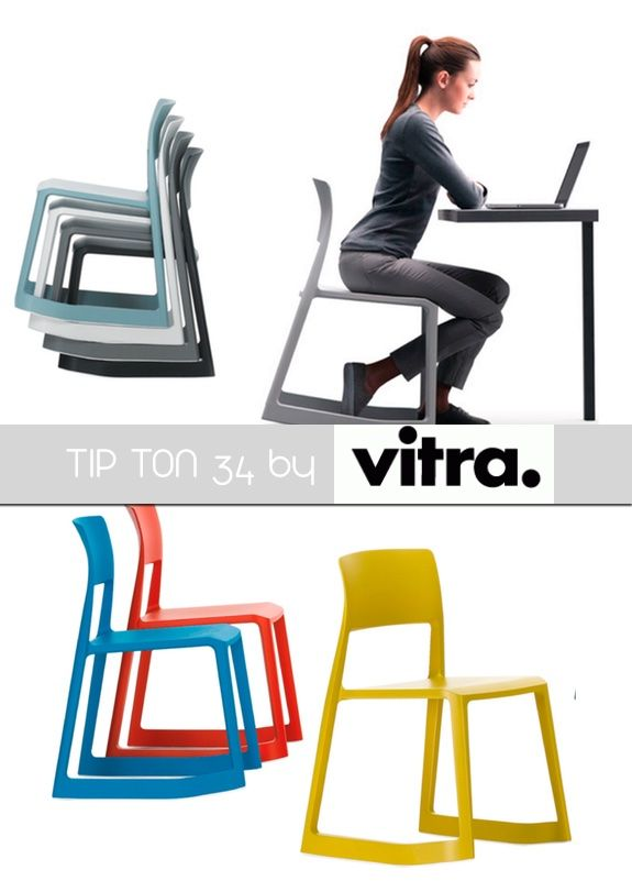 A whole #new #chair typology! Its name refers to the dual sitting positions provided by the chair: the forward-tilt position, until now the preserve of mechanical office chairs, straightens the pelvis and spine and thus improves circulation to the abdominal and back muscles. http://bit.ly/1jj0Na2 #training #design #furnishing #colors #comfort
