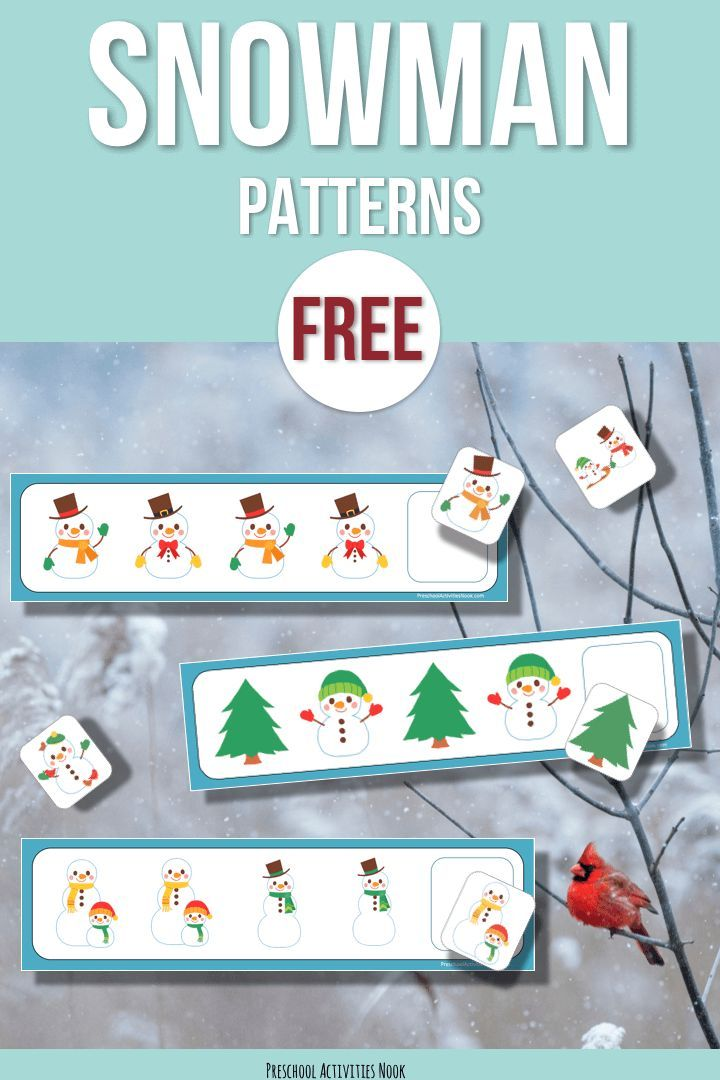 Looking for some winter themed patterning printables for your preschoolers? Patterning is an early math skill and it's an important foundational skill for more advanced math work as they get older. Children naturally enjoy creating patterns with their toys and manipulatives. These are some simple snowman pattern cards that will go great with your winter … Read more...