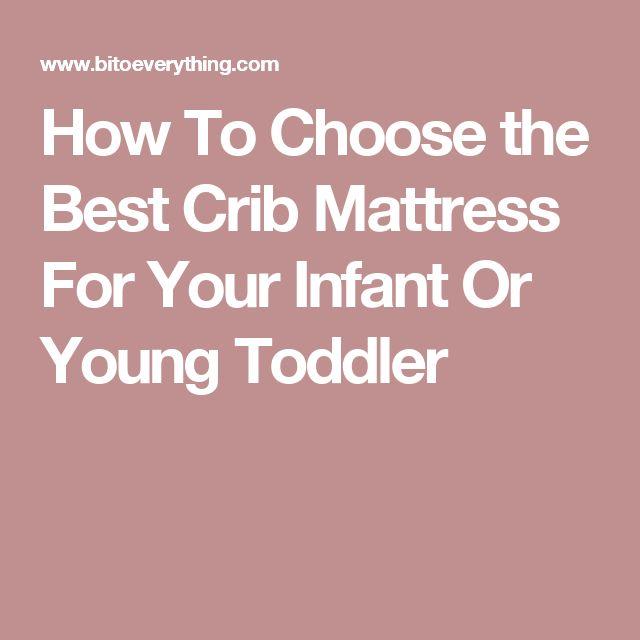 Best 25 Crib Mattress Ideas Only On Pinterest Toddler