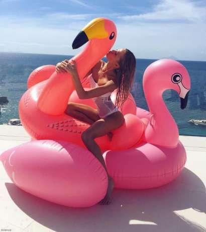 Шикарный надувной матрас фламинго Кривой Рог - изображение 1