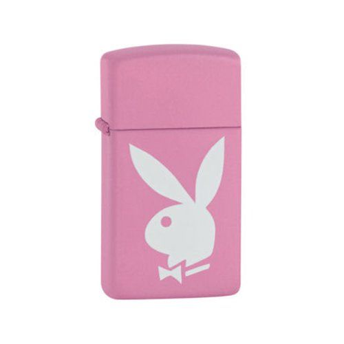 "Zippo Ladies Slim Design Playboy Pink & White Lighter in black presentation box For timeless design and unmistakable ""click"" from the quality materials and workmanship Zippo lighter has endured virtually unchanged for 75 years Comes in black presentation box Ideal for a present or just for treating yourself Product Features Genuine Zippo Windproof Lighter For […]"