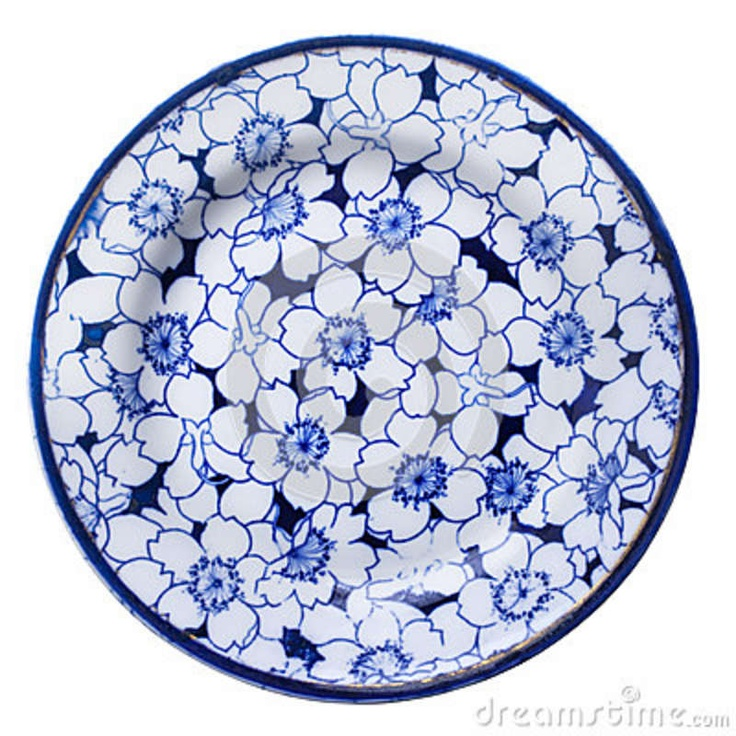Blue And White Plates Prepossessing With Antique China Plate Blue and White Photos