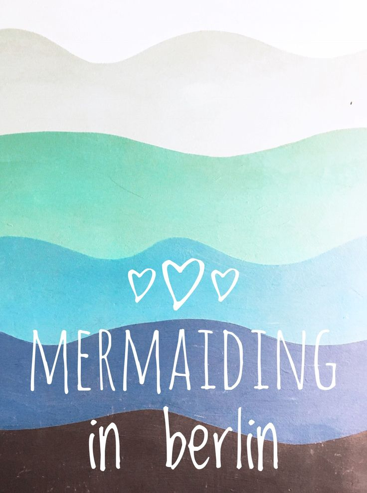 Meerjungfrauen Schwimmen in Berlin - Mermaiding Workshop mit Swimolino