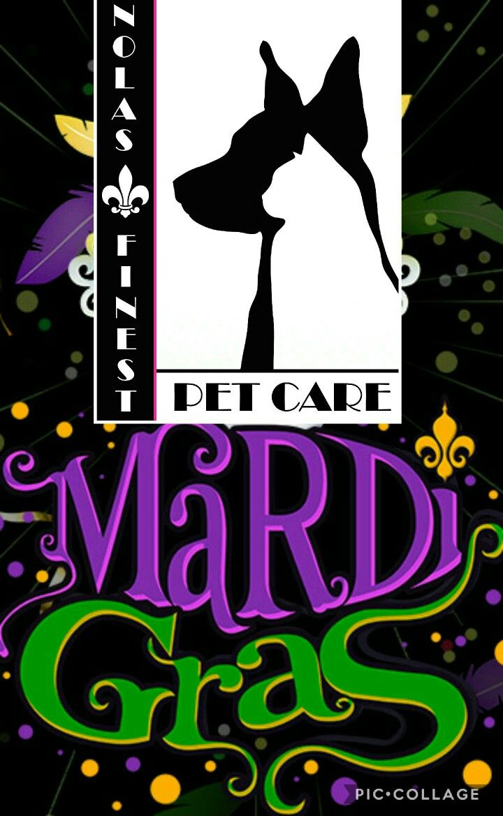 Get our private dog walking season pass for all the parades this year...so you can continue to party. Learn more at www.nolasfinestpets.com