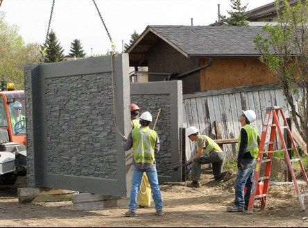 Cercos Premoldeados: Cercos Perimetrales Prefabricados