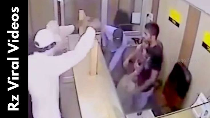 cool Shocking CCTV Footage Western Union Bank Robbery