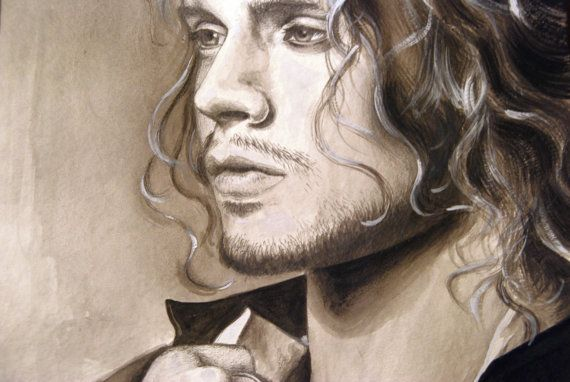 Custom portrait painting from photo. Pencil by GhirigoriLab, $123.00