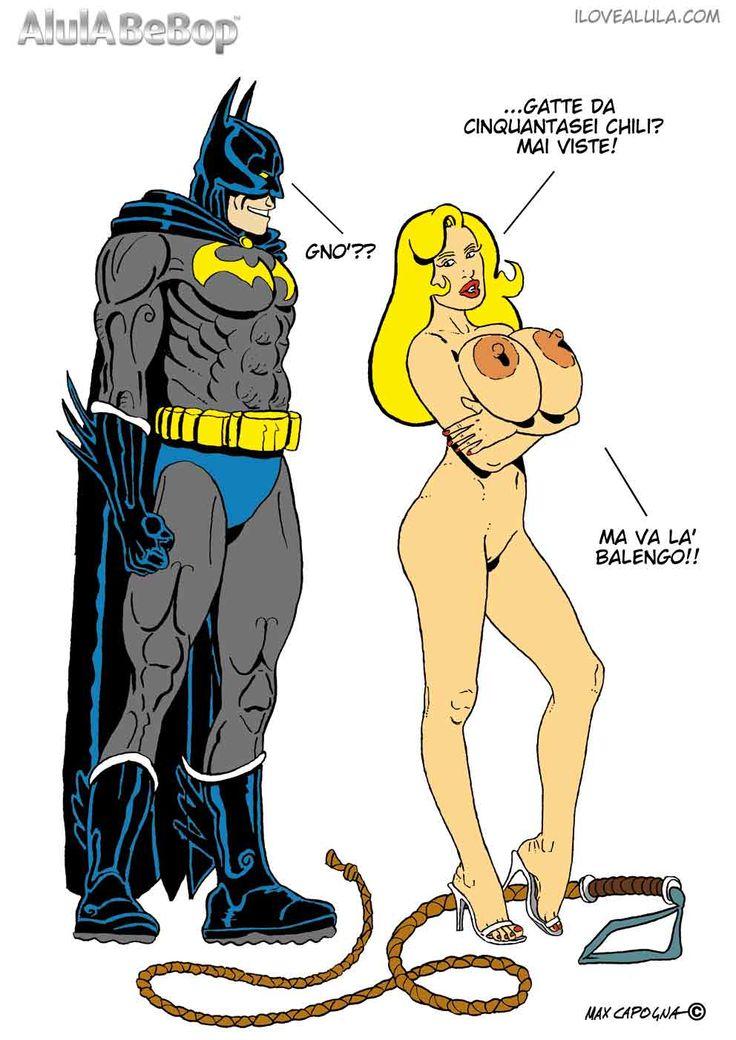 AlulA BeBop Vs Batman Big Boobs - Comics - Fumetti - Fetish.