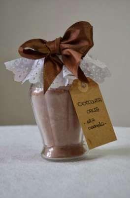 cioccolata calda preparato