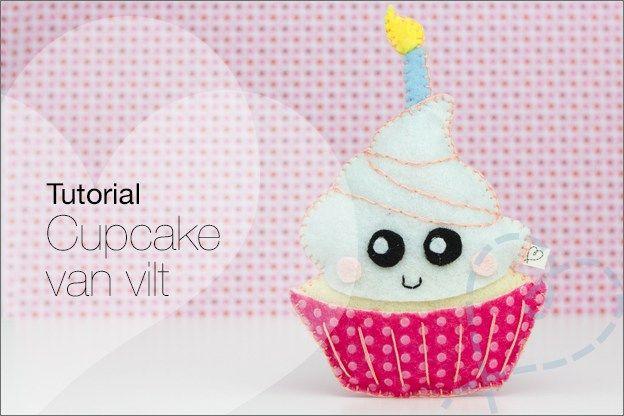 Kijk wat ik gevonden heb op Freubelweb.nl: een gratis patroon van NobodyELSe om deze leuke cupcake van vilt te maken https://www.freubelweb.nl/freubel-zelf/zelf-maken-met-vilt-cupcake/
