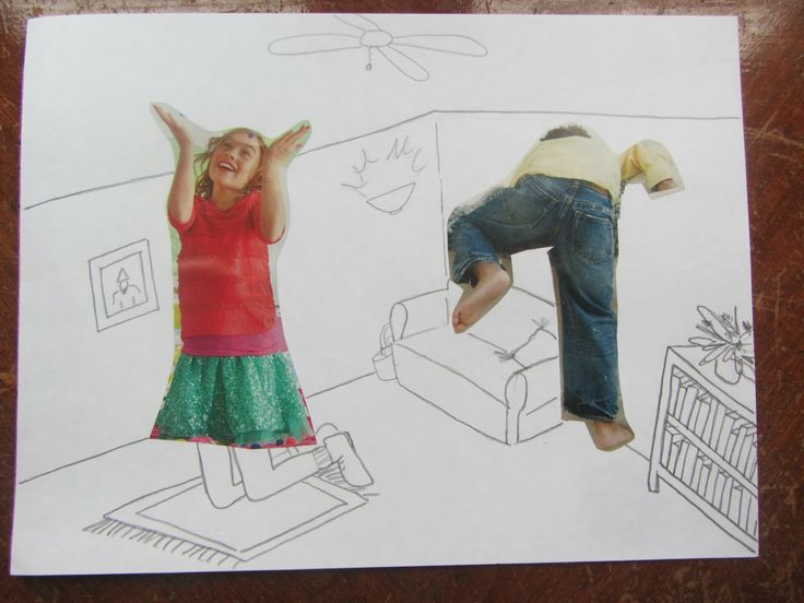 Art Tutorial: Magazine Scrap Sketches {The Unlikely Homeschool}