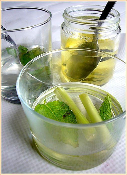 Sirops variés pour salade de fruits