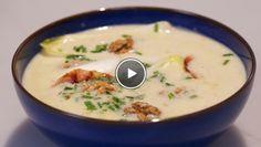 Witlofsoep met blauwe kaas en spekjes - Rudolph's Bakery | 24Kitchen