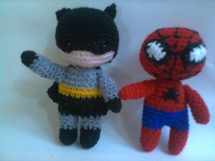 Amigurumi Minion Superheroes : 29 best images about Amigurumis mios on Pinterest ...