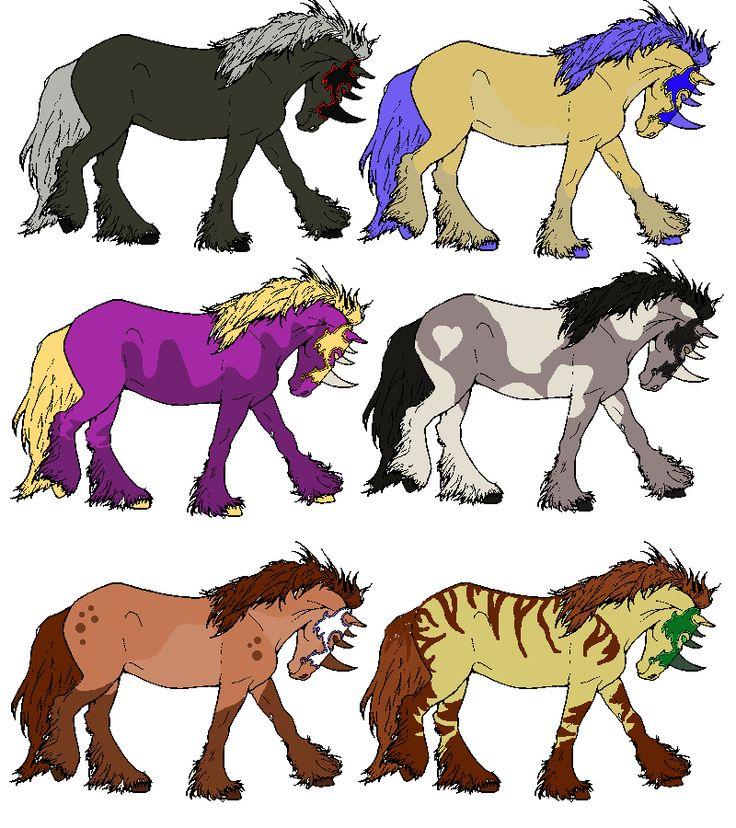 devaint art horse breed  adoptables | Horse Adoptables: Batch 1 by Zulfara