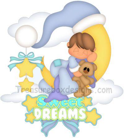 Sweet Dreams Boy - Treasure Box Designs Patterns & Cutting Files (SVG,WPC,GSD,DXF,AI,JPEG)