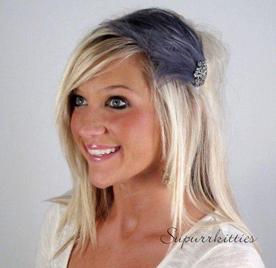 Lady's Feather Headband (Jenn picked this)