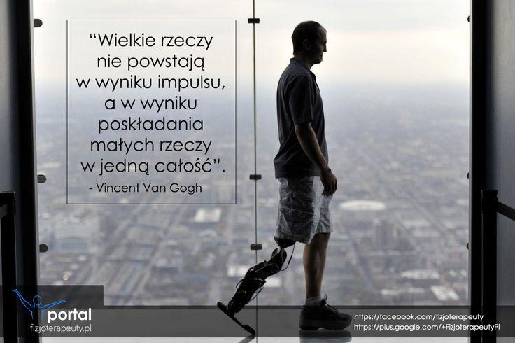 Wielkie rzeczy nie powstają w jednym momencie....  http://fizjoterapeuty.pl/ #zdrowie #fizjoterapia #rehabilitacja #masaż