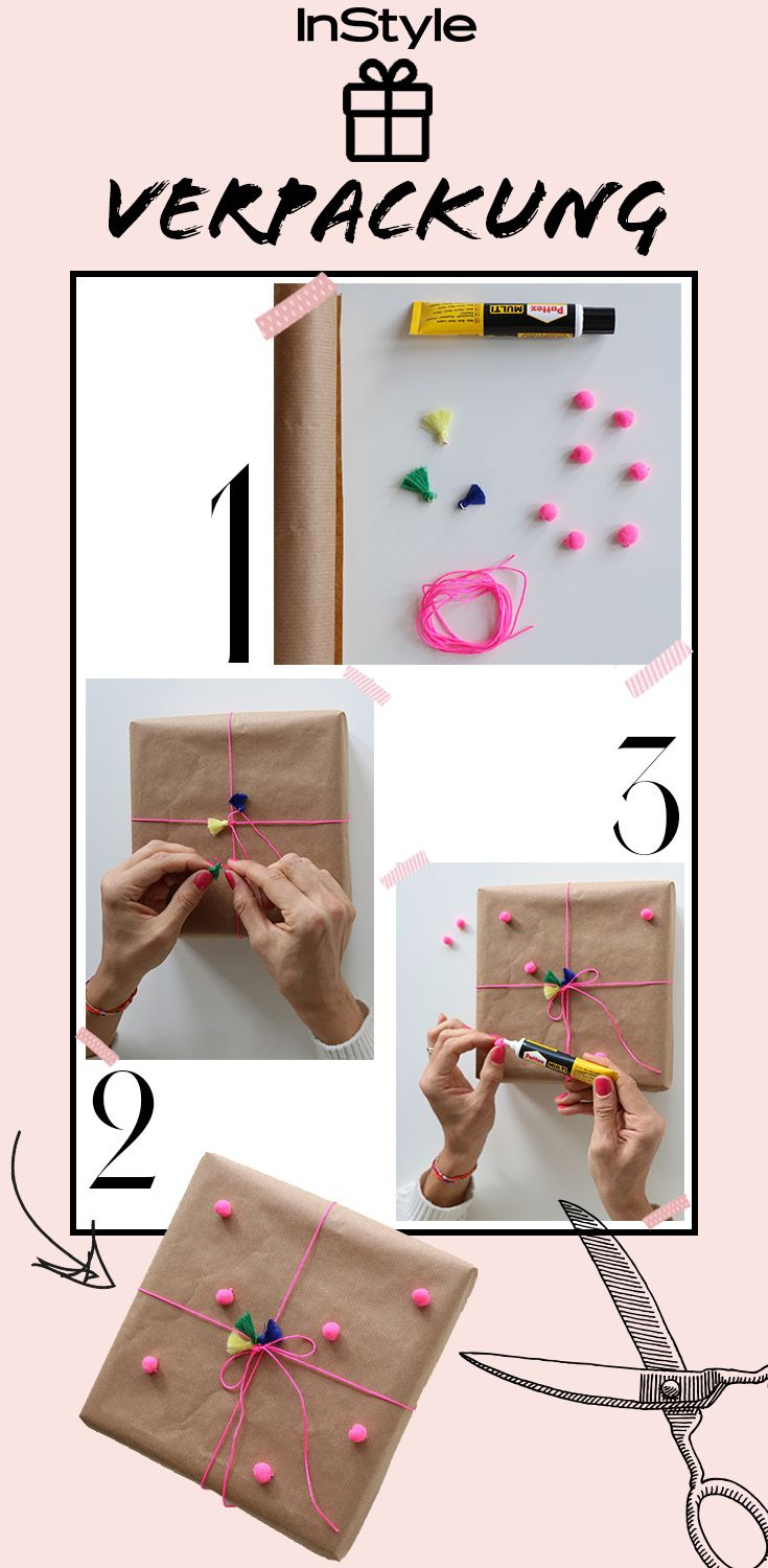 Gifts with Style: These DIY packaging idea love fashion girls!