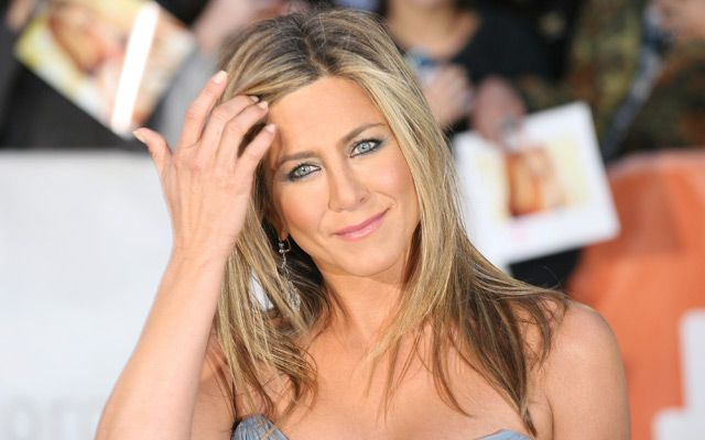 Jennifer Aniston's shocked us all by having her trademark long hair cut recently, but shows how can add length and volume with some hair extensions.
