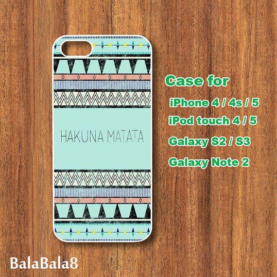 Aztec Hakuna Matata  iPhone  4 case iphone 5 Case by BaLaBaLa8, $14.99