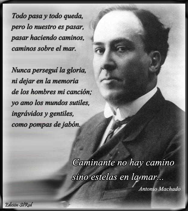 De Antonio Machado. Cantares https://www.facebook.com/joanmanuelserrat