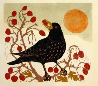 December Quarry by Julia Manning.Artists Printmaking Based, Beautiful Inspiration, Artists Amp, Artists Archives, Artists Fav, Crows, December Quarry Julia, Artists 2014, Quarry Julia Man